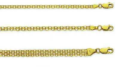 Bismark Chain in 14k Gold