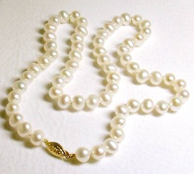 Round Freshwater 6.5-7.0 mm Pearl Strand