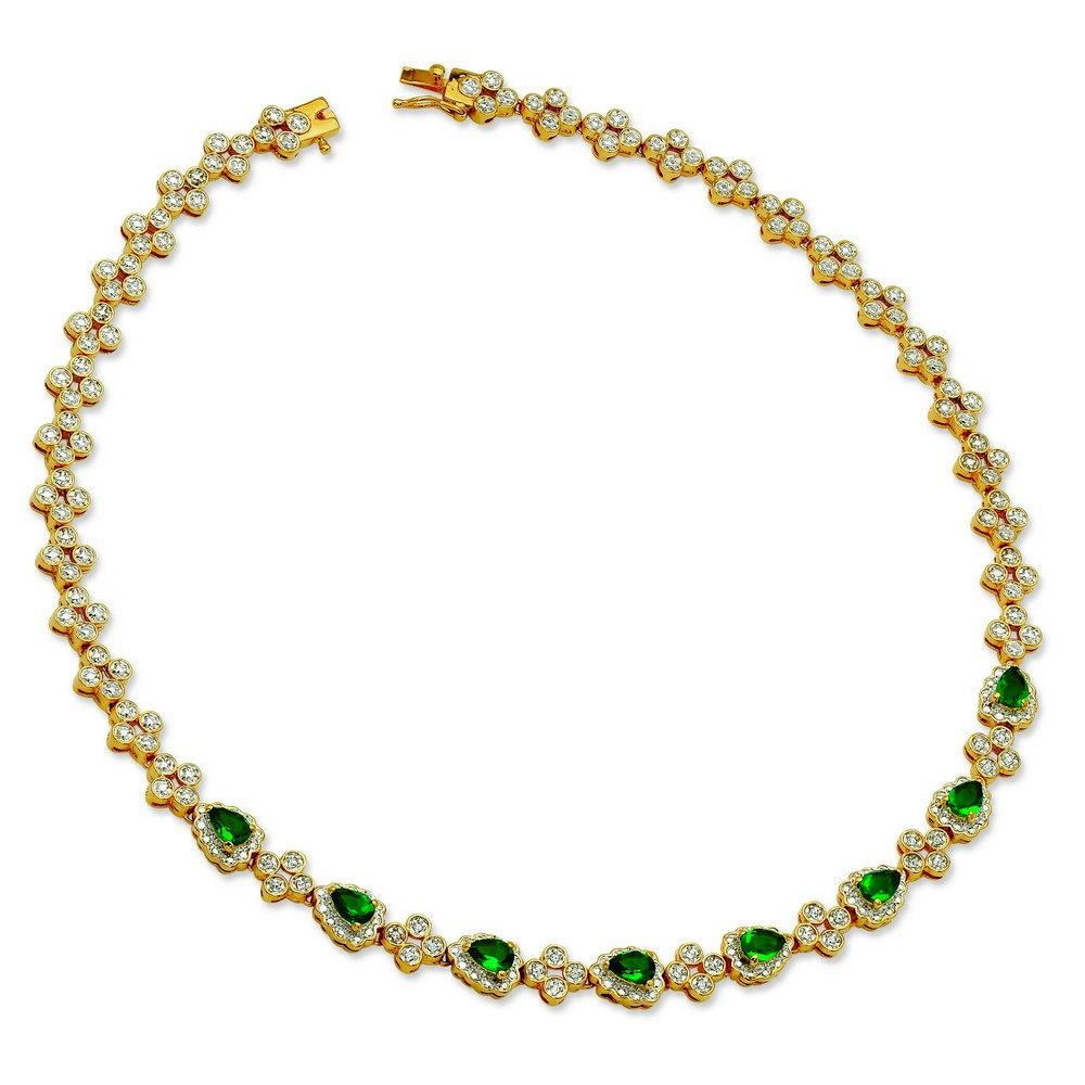 Jewelryweb Emerald Drop Necklace at Sears.com