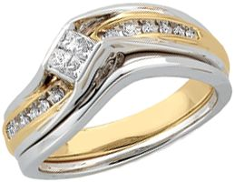 Jewelryweb 14k White Gold Bridal Engagement Ring Band - Size 6 at Sears.com