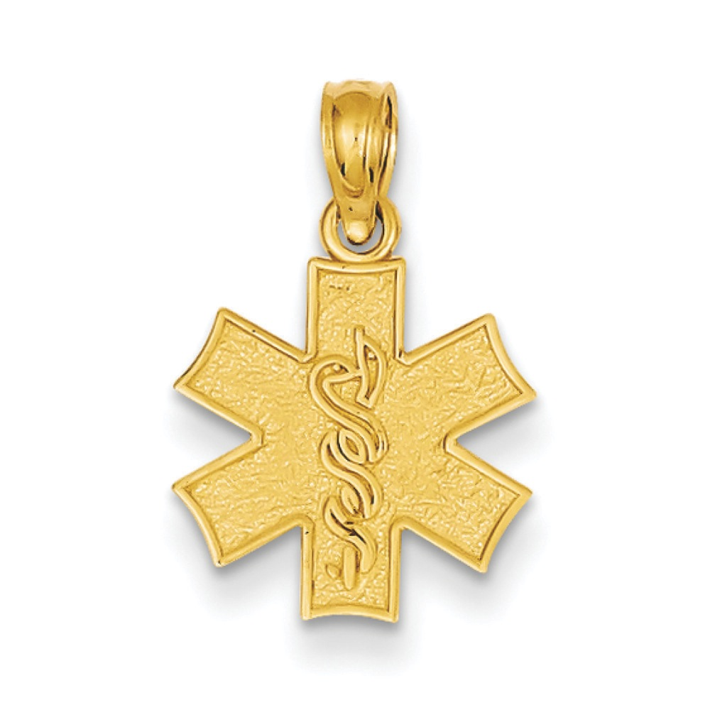 Jewelryweb 14k Medical Alert Symbol Pendant at Sears.com