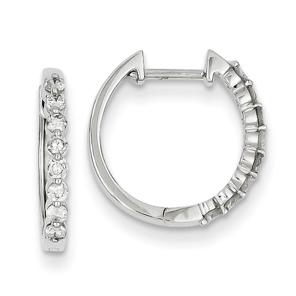 Jewelryweb 14k White Gold Diamond Earrings at Sears.com