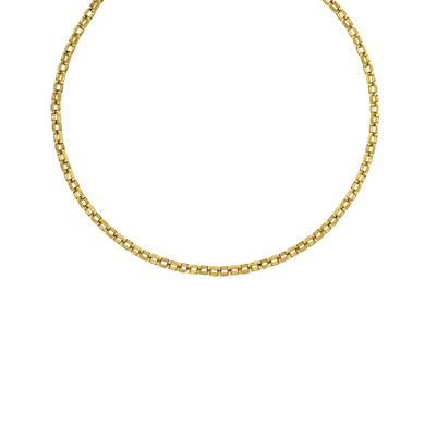 Jewelryweb 14k Yellow Gold 5.7mm Solid Link Bracelet - 8 Inch at Sears.com